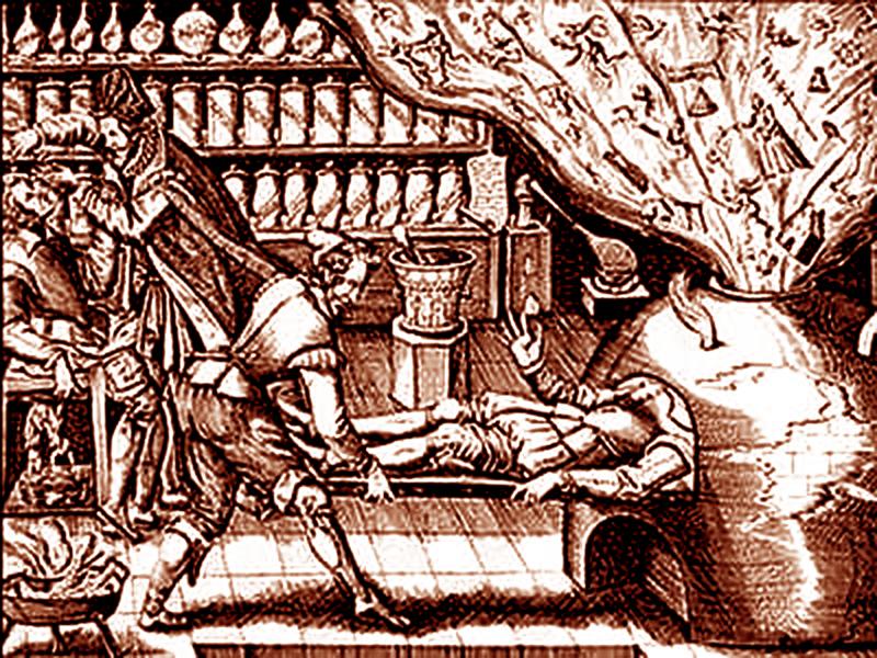 Alchimia opera al nero trasmutazione mentale