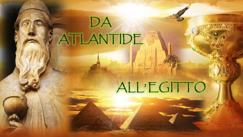 Da Atlantide all'Egitto